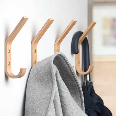 Multi Functional Wooden Hooks