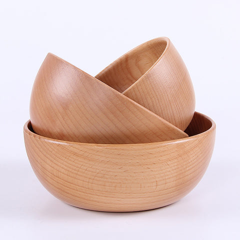 Solid Wood Bowl
