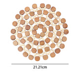 Round Heat Insulation Placemat