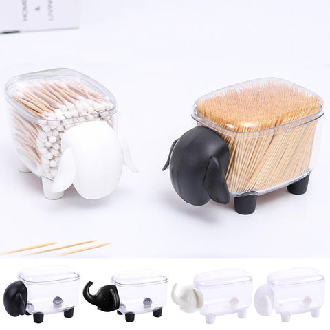 Cotton Box  Holder (Sheep /Elephant )