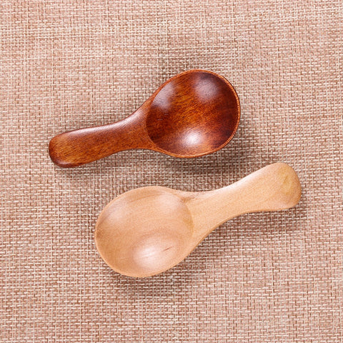 Wooden Small Mini Spoon