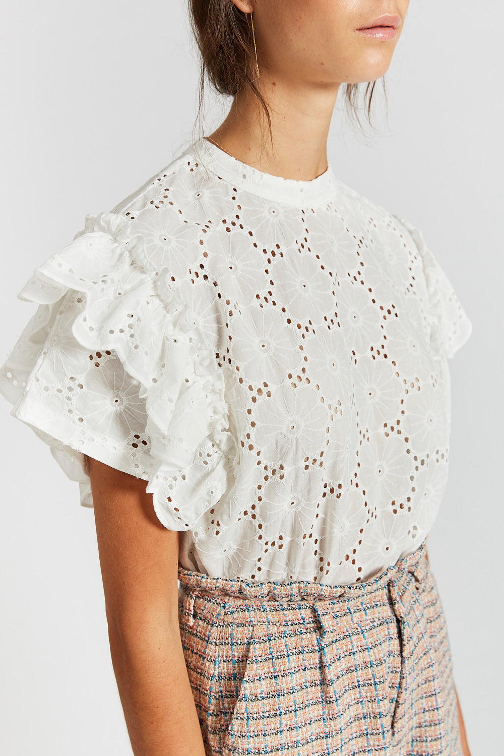 """JACINTHA"" TOP OFF-WHITE"