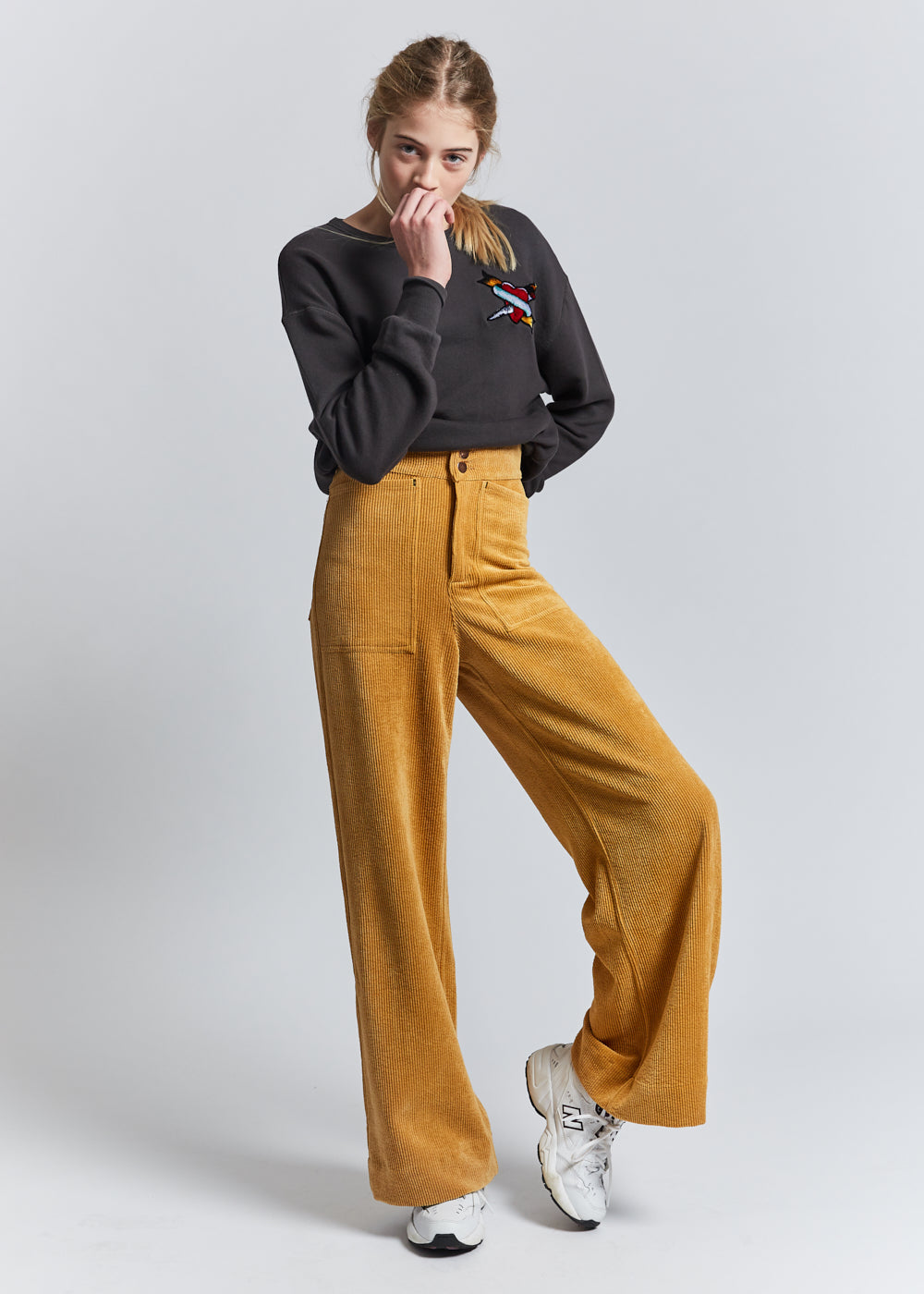 INDEE IDENTITY CORDUROY TROUSERS