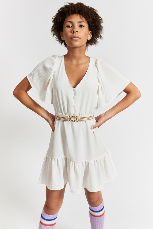 """JOLEEN"" DRESS OFF-WHITE"
