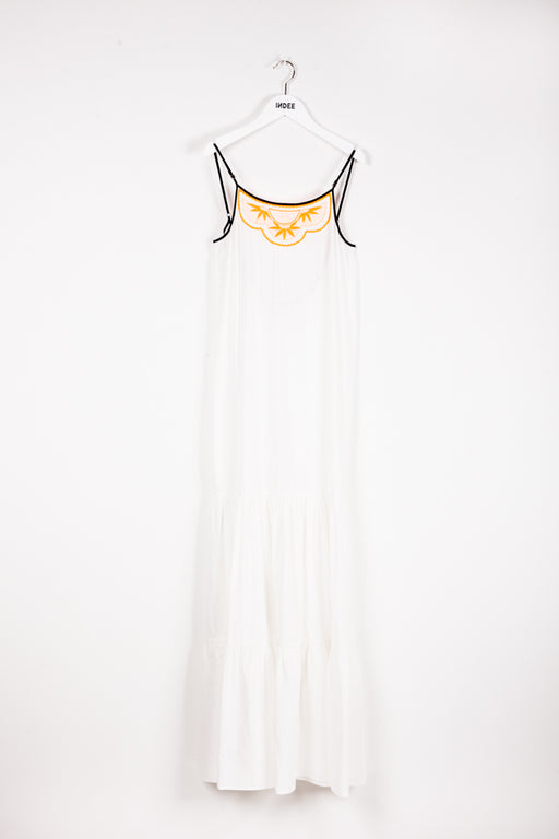 """JAVOTTE"" LONG DRESS OFF-WHITE"