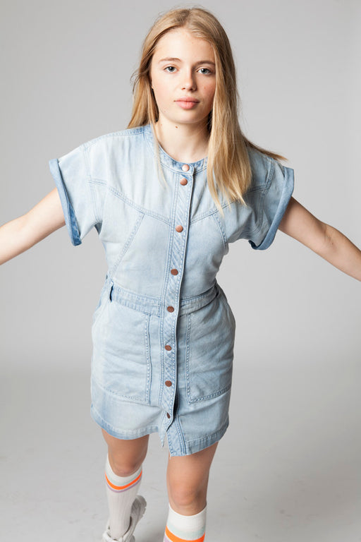 GINNY DENIM DRESS