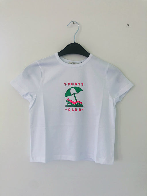 ESCAPE SPORTCLUB WHITE T-SHIRT
