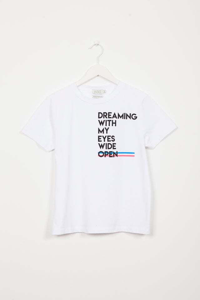 GABY DREAMING WHITE T-SHIRT