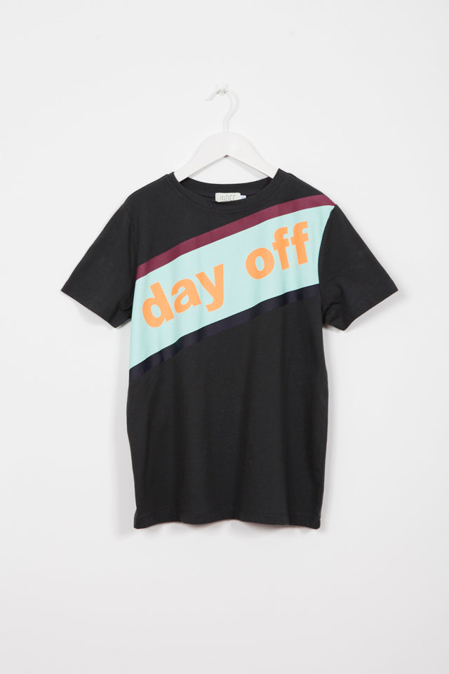 GABY DAY OFF LAVA PRINTED T-SHIRT