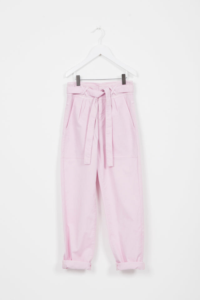 GANG BLUSH TAPERED CUT TROUSERS