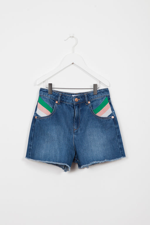 GATO DENIM SHORT