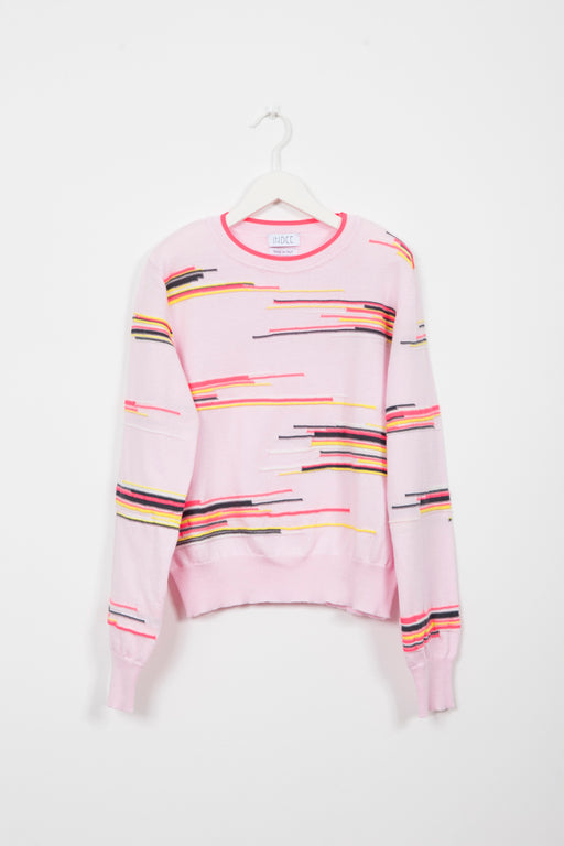 GEVARA BLUSH SWEATER