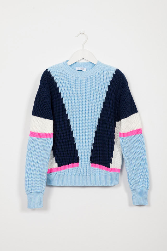 GHANDI AEGEAN KNIT SWEATER