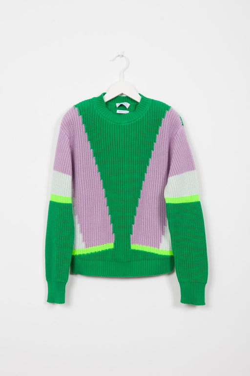 GHANDI ALOE KNIT SWEATER