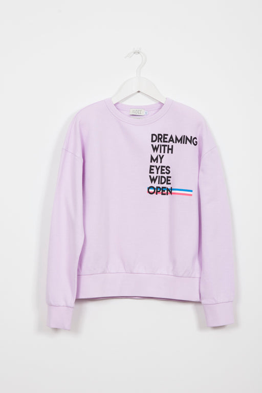 GINGER DREAMING BLUSH SWEATER
