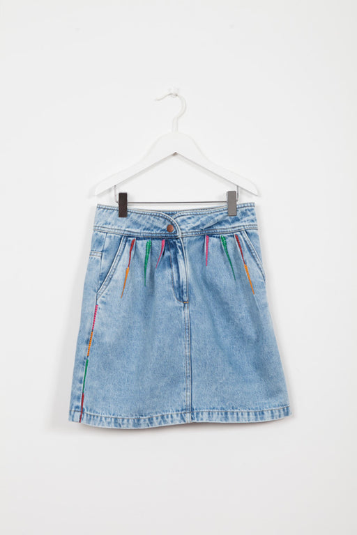 GLORIA DENIM SKIRT