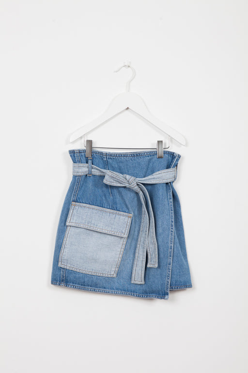 GRANT DENIM SKIRT