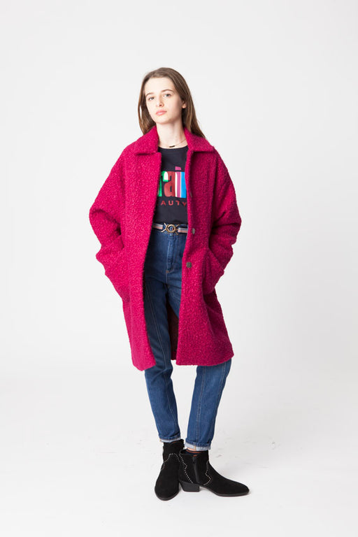 FOREST HIBISCUS COAT