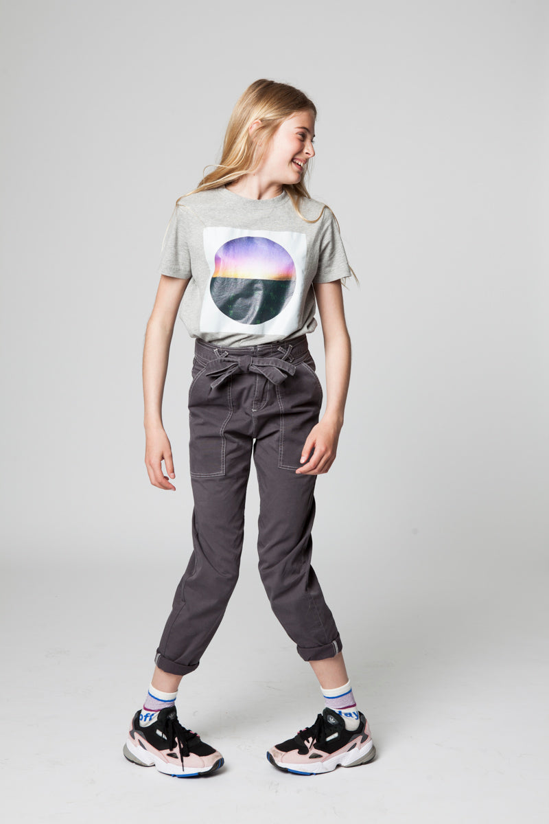 GABY BOREAL DIGITAL PRINTED GREY T-SHIRT