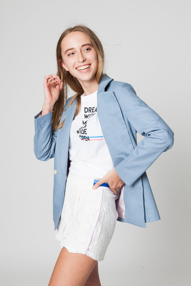 GRACE DENIM BLAZER