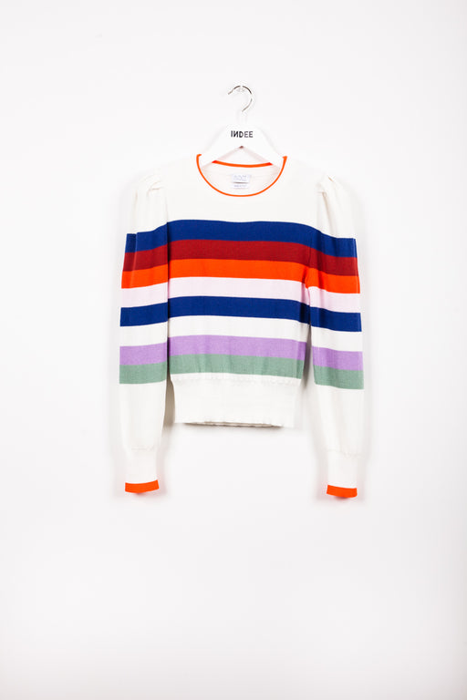 """JABAL"" KNIT-SWEATER OFF-WHITE"