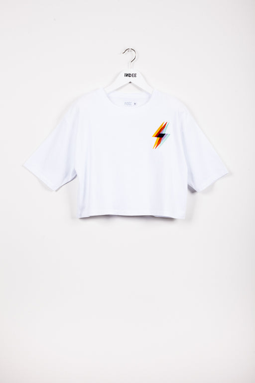"""JIMENA"" FLASH T-SHIRT WHITE"