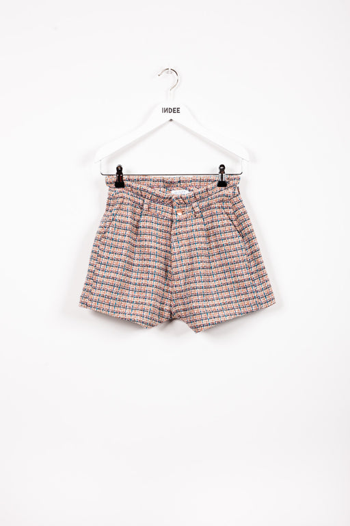 """JIAN"" TWEED SHORT EDEN"