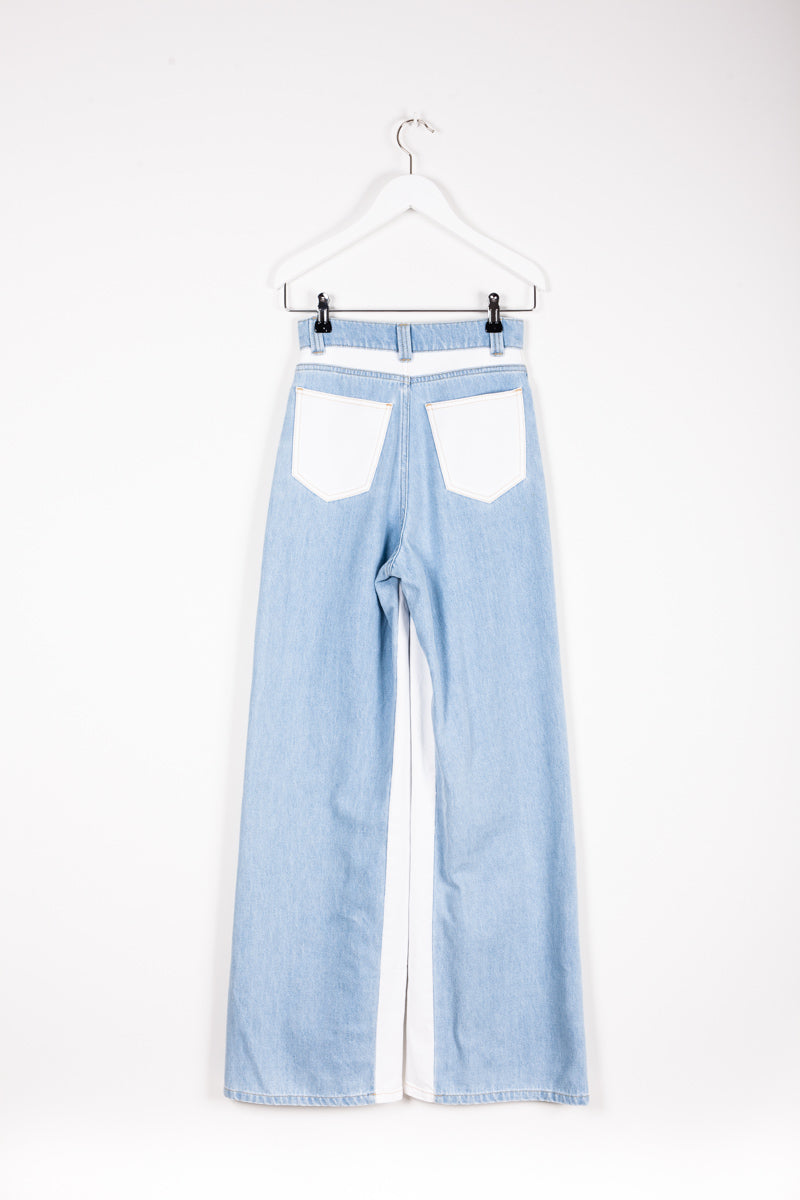 """JODIE"" TROUSERS BLEACH"