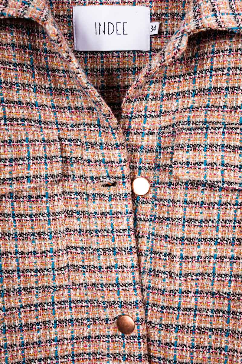 """JUKEBOX"" TWEED JACKET EDEN"