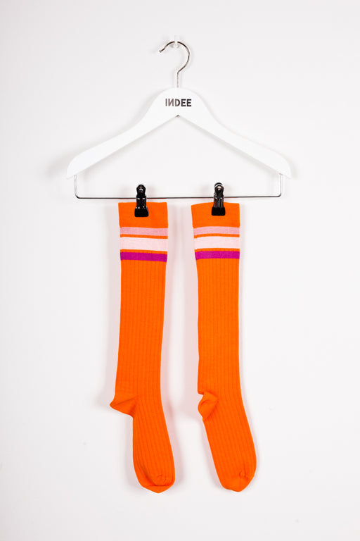 "Copie de Copie de ""JALOUSE"" SOCKS PAPAYA"