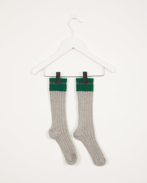 ISOMERIC MALACHITE SOCKS