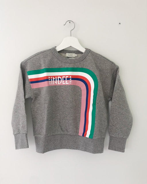 ENERGETIC INDEE GREY SWEATER