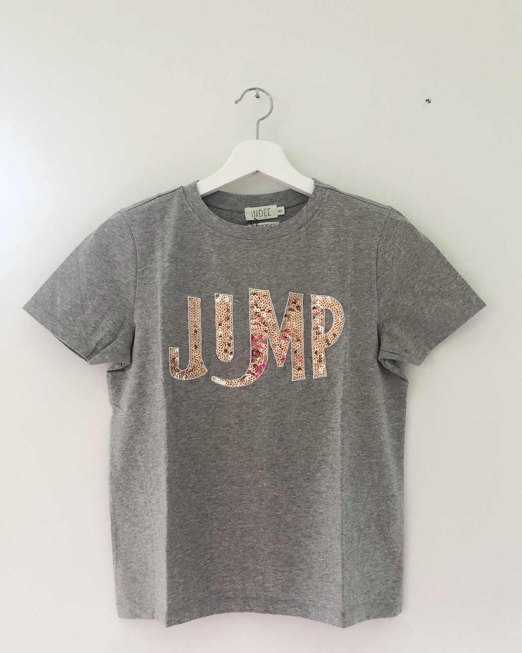 ECHO JUMP GREY T-SHIRT