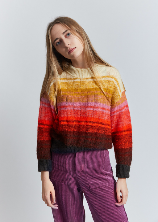 IRREAL MACADAM KNIT SWEATER