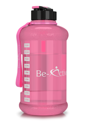 Motivational Tracker Water Bottle Grey 750ml