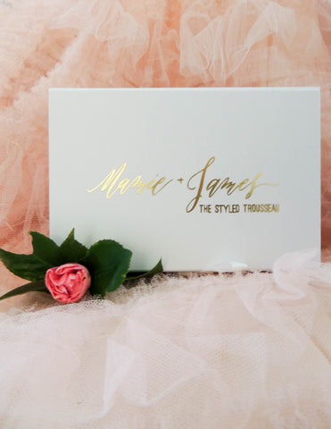 m+j the styled trousseau box set
