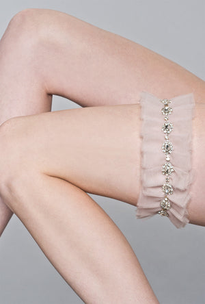 Alexandra Tulle Adjustable Garter