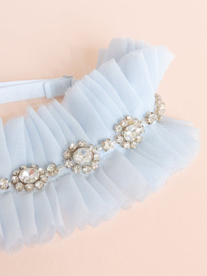 Alexandra Silk Chiffon Adjustable Garter
