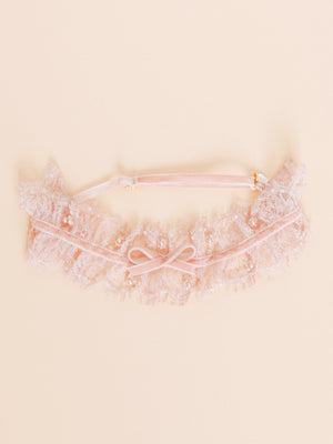 Georgiana + Freshwater Pearls Adjustable Garter