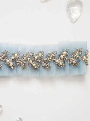 Talia Tulle Adjustable Garter