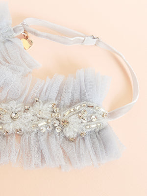 Nova Silk Tulle Adjustable Garter