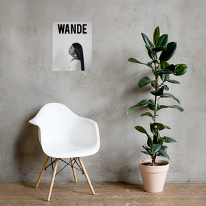 Wande Poster
