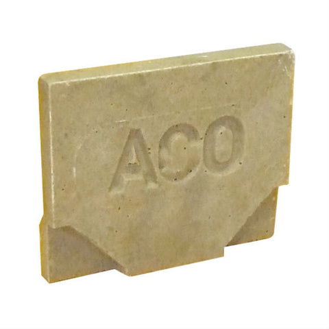 ACO RainDrain B 125 closing end cap - 20 per case