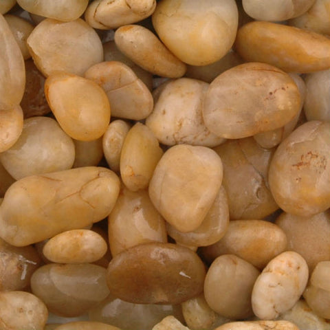 Amber Polished Pebbles 15 - 30 mm
