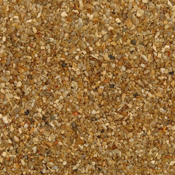 Corn Flint Marine Shingle 2 - 5 MM - Available in 25 kg bags, or pallet quantities. Bulk Bags please call for details and availability.