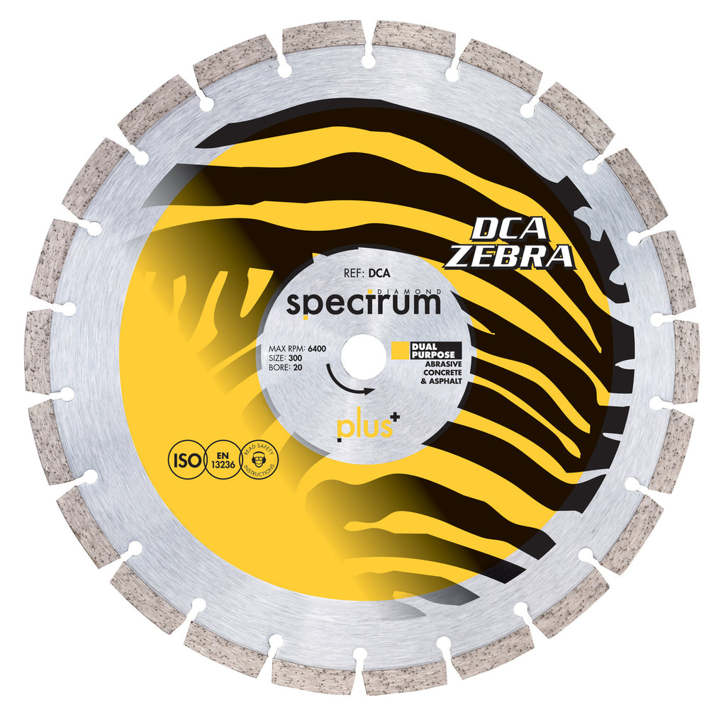 Trade DCA - Abrasive Diamond Blade