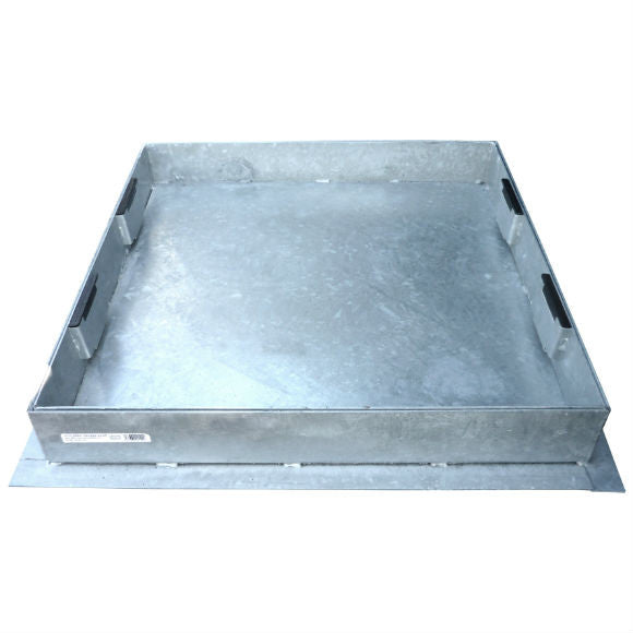 80 mm Deep Max Block 65 mm Recessed Manhole Covers for Block Paving & Slabbed Areas