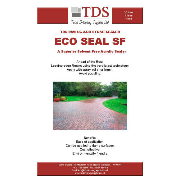 TDS ECO Sealer - Available in 5L & 20L