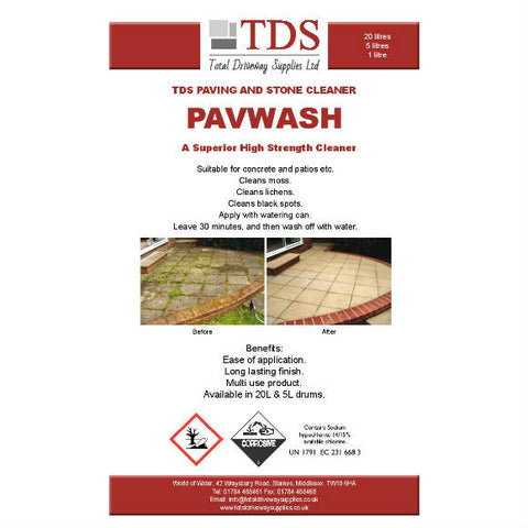 TDS Pavwash - Available in 5L & 20 L