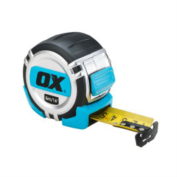 Pro Heavy Duty Tape Measure 5 M - Metric and Imperial